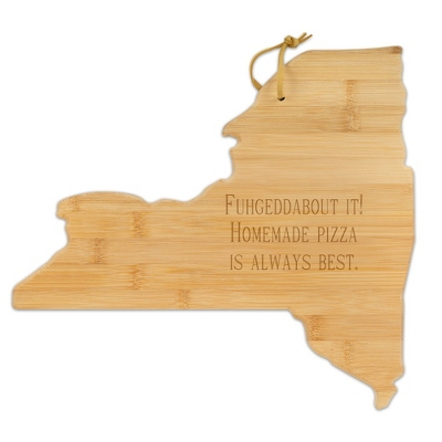 New York Bamboo Cutting Board - Kitchen Tools & Accessories - Cooking & Kitchen Gifts - For The Couple - Personalized At Things Remembered