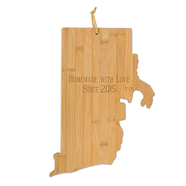 Rhode Island Bamboo Cutting Board - Kitchen Tools &