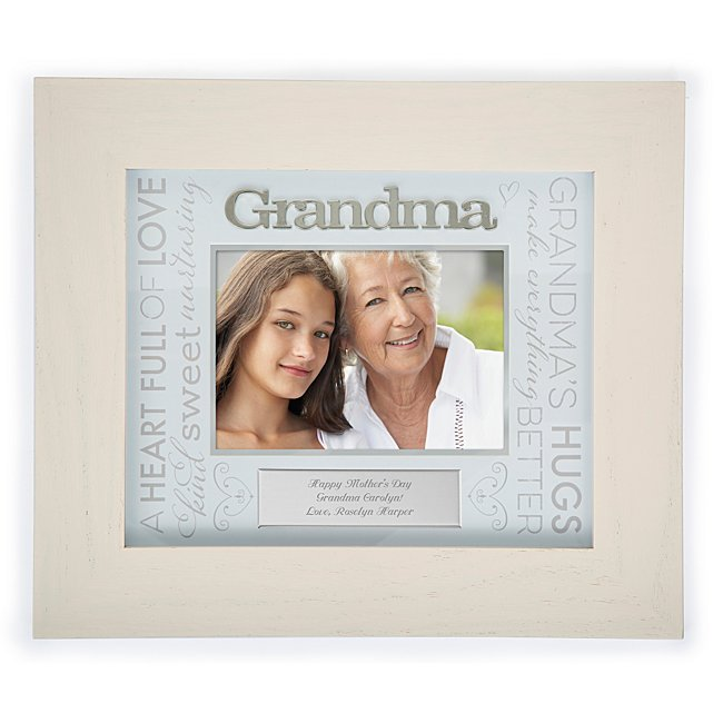 grandma loving words frame