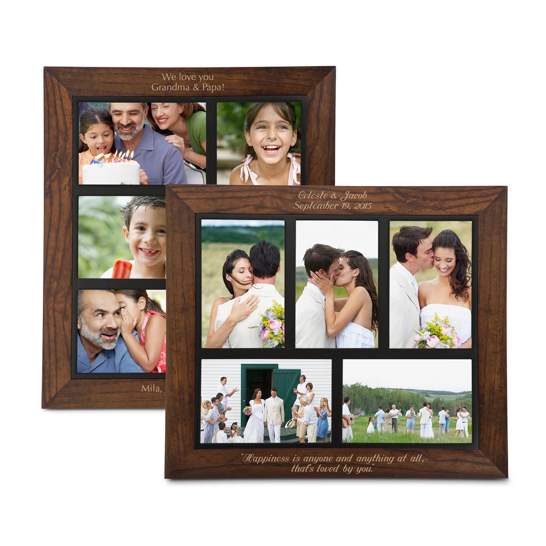 Dark Walnut Collage Frames