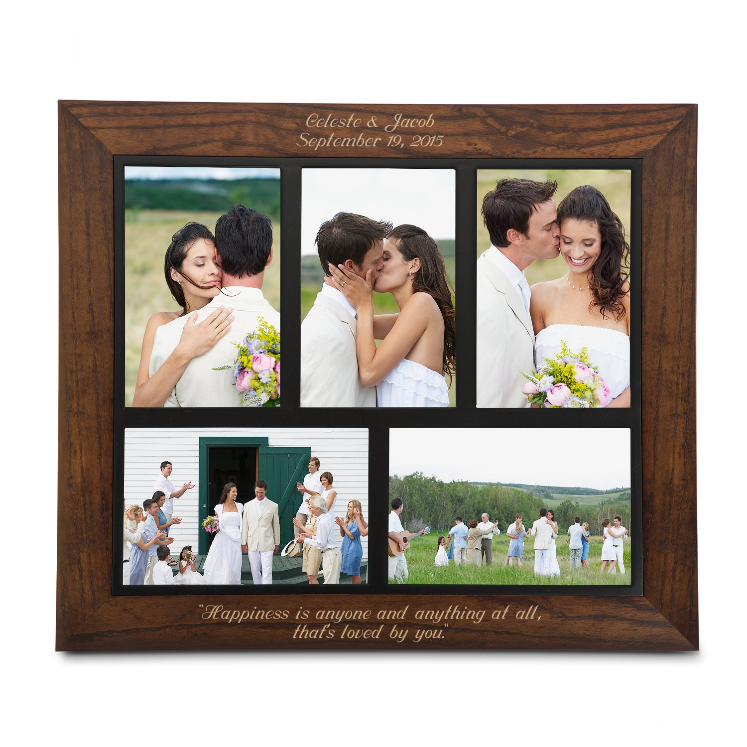 Dark Walnut Collage Frames