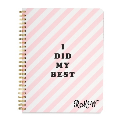 Ban. Do I Did My Best Mini Notebook - Notebooks, Journals & Binders - Her Gifts - Personalized At Things Remembered