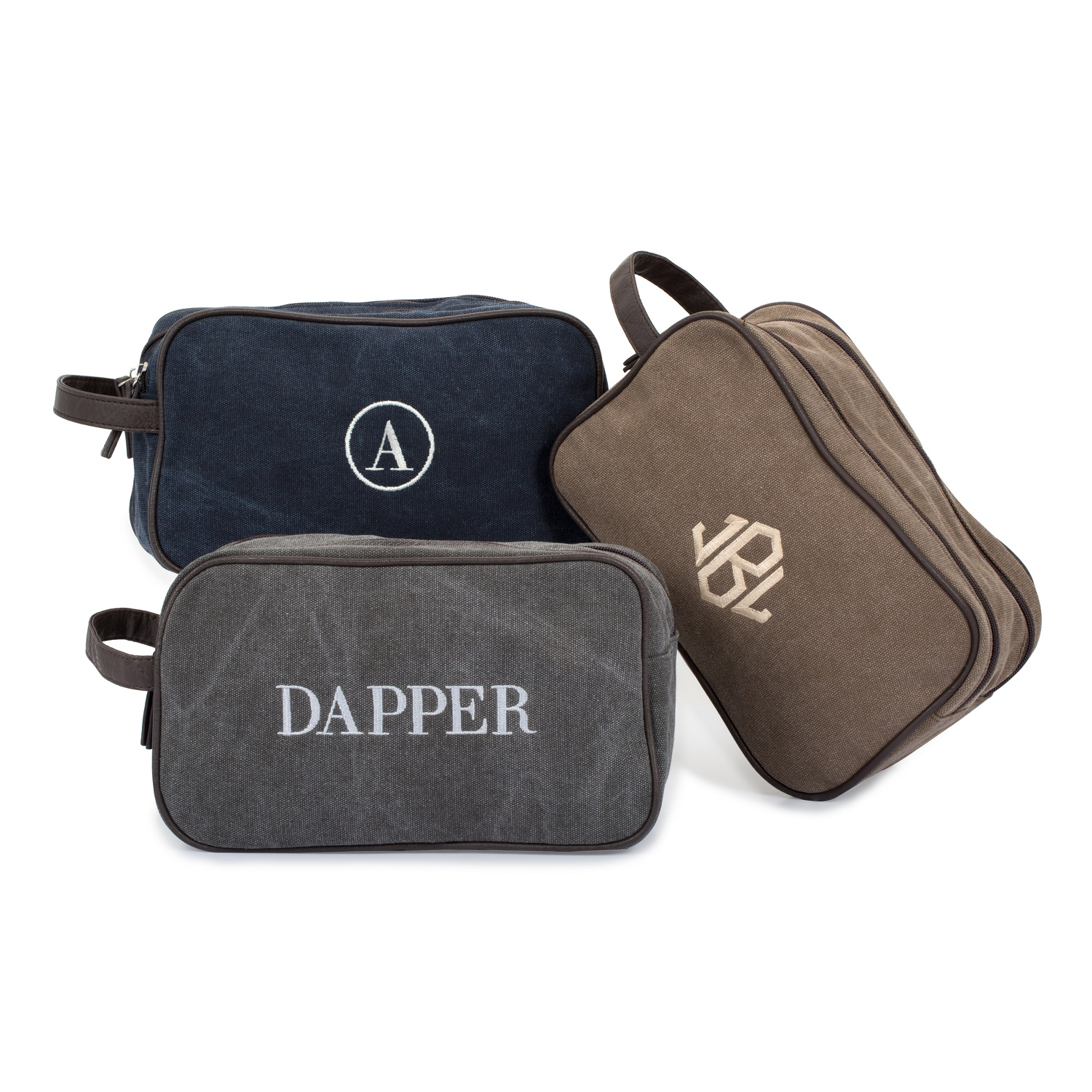 Washed Canvas Dopp Kit c4900a55cad81