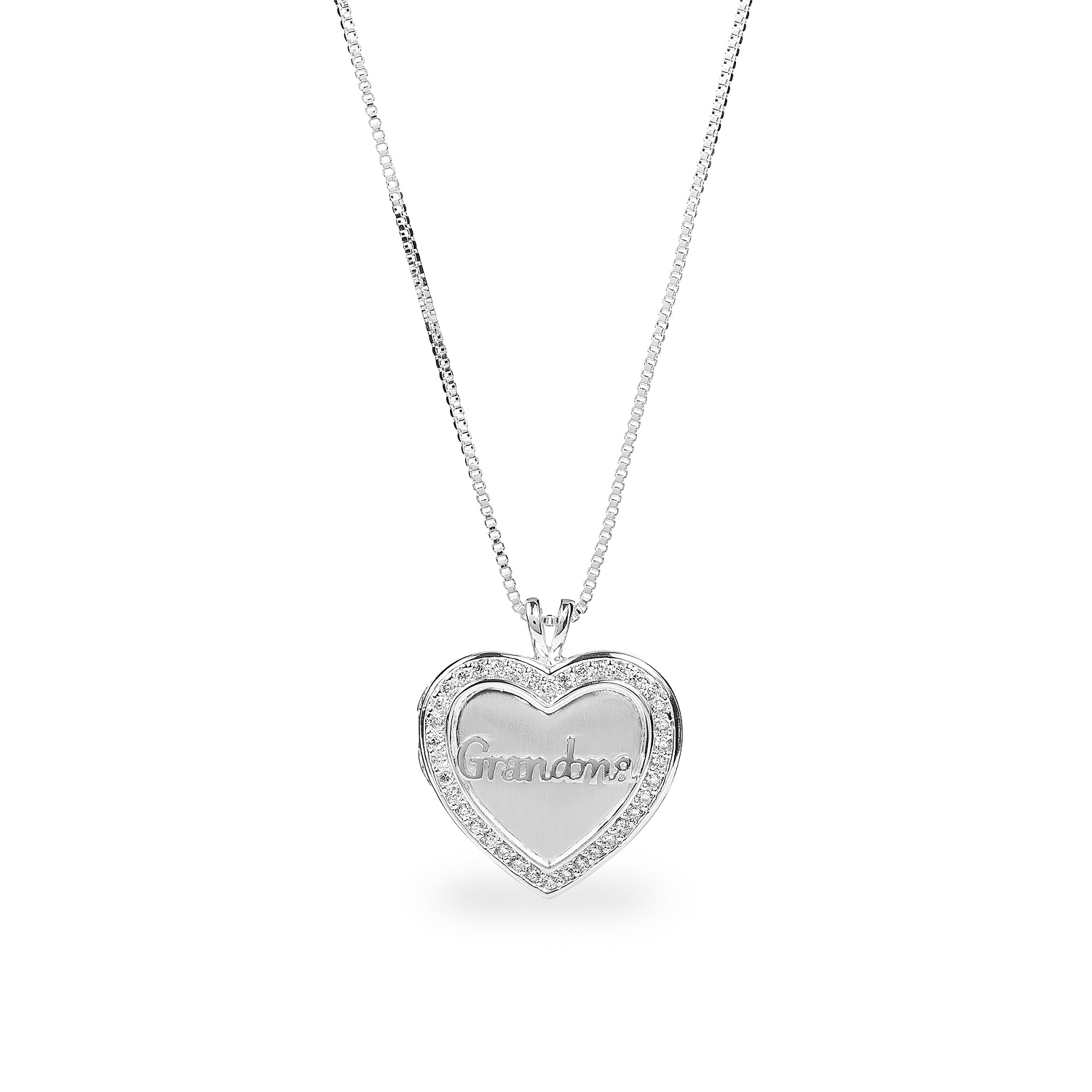 silver lockets product qvc half clogau sterling gold rose uk heart necklace locket