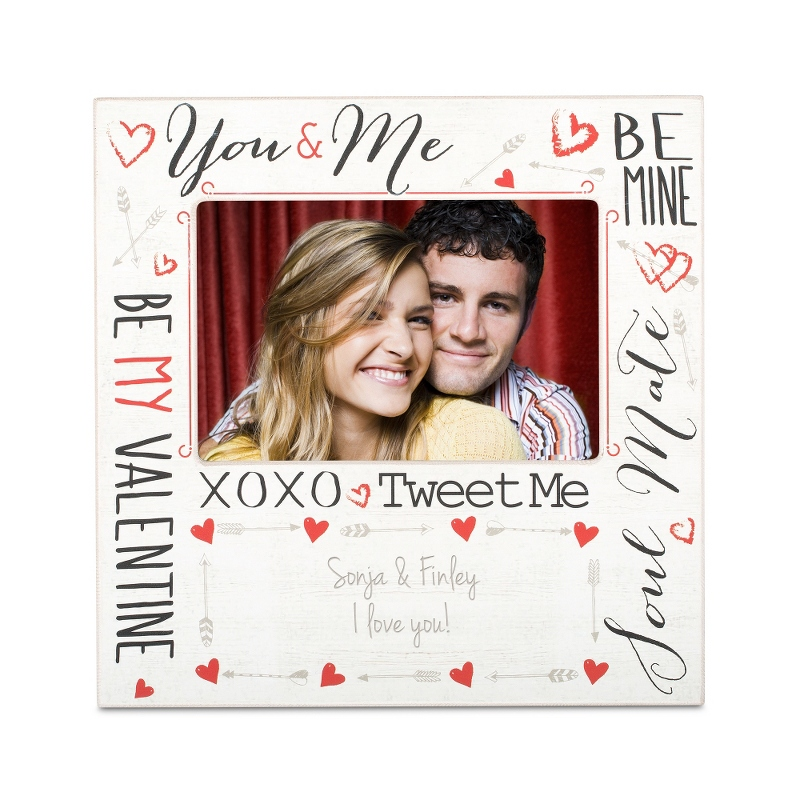 Image Be My Valentine Picture Frame