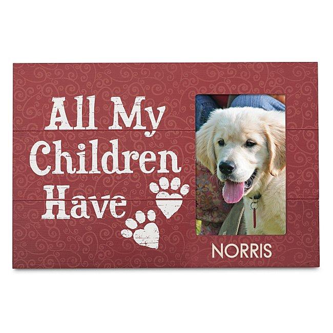 Pet Parent Picture Frame
