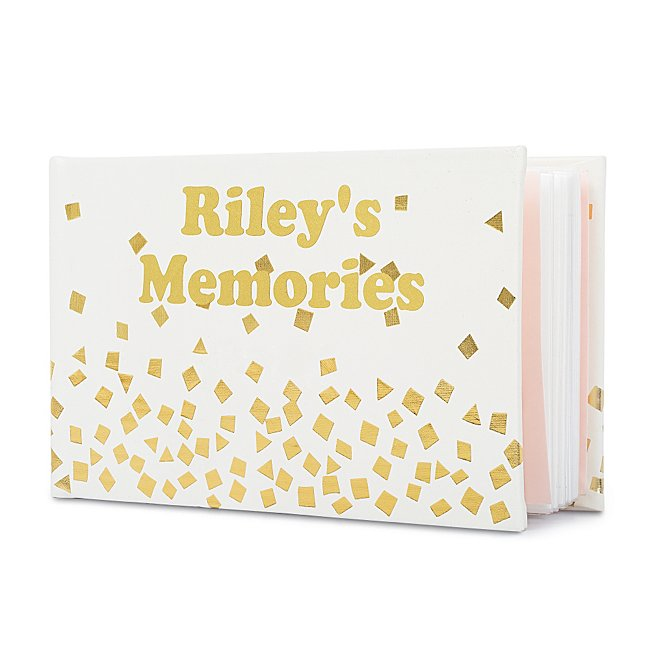 Gold Confetti Photo Album...