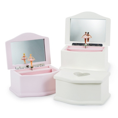 Girls Ballerina Musical Jewelry Box
