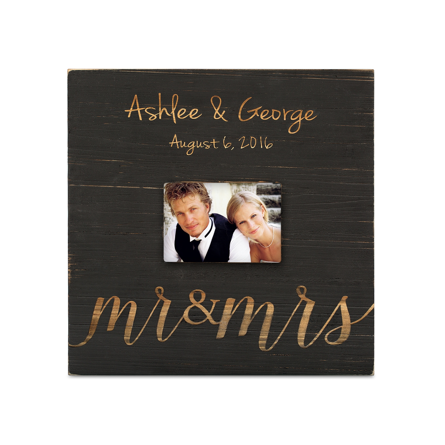 mr and mrs wood photo frame - Mr And Mrs Frame