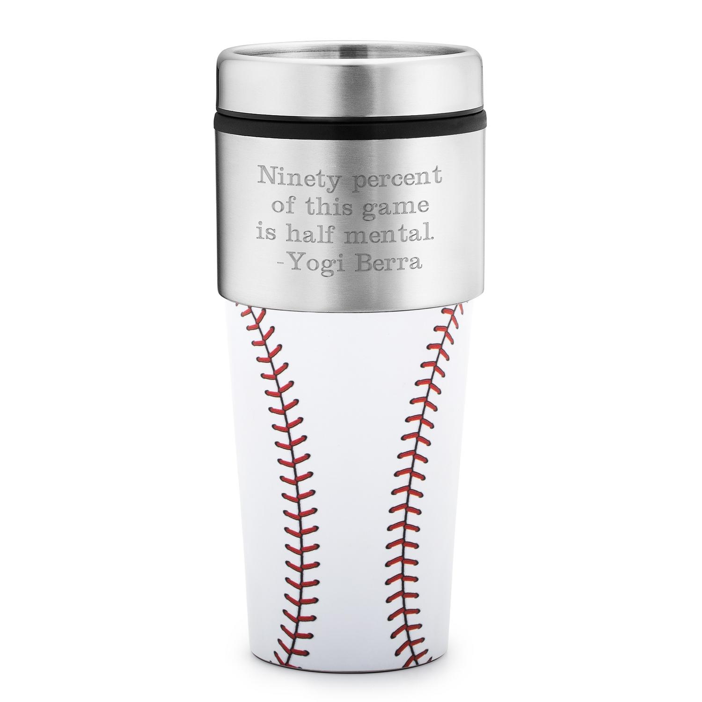 6e2b576e930 Baseball Travel Mug