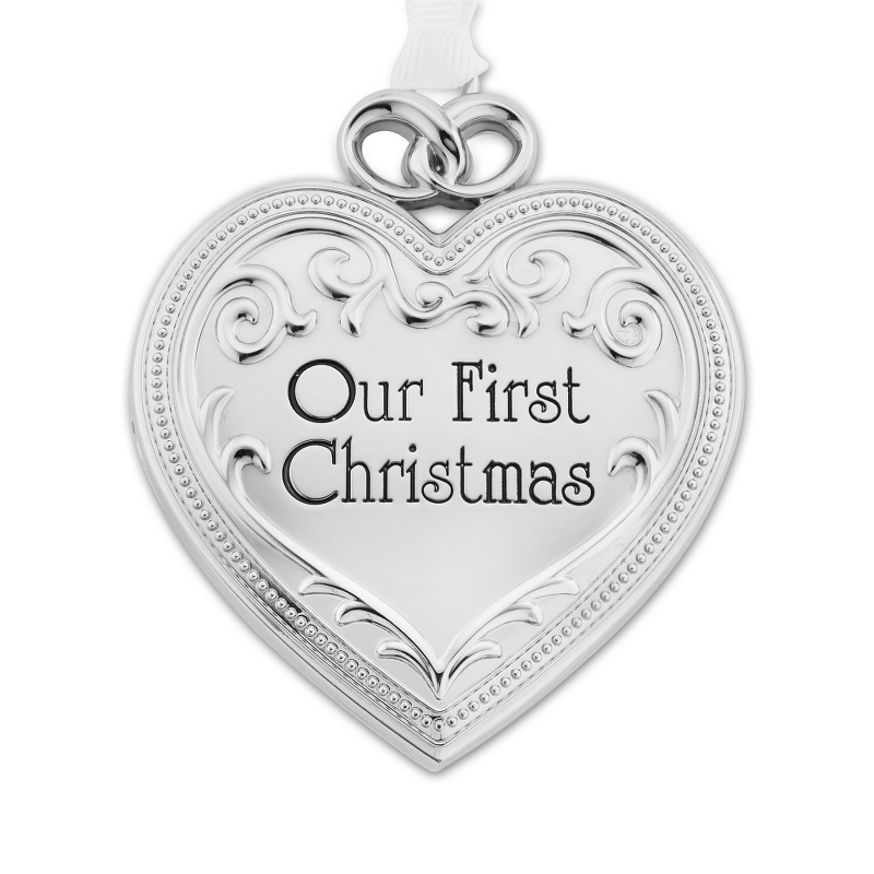 Our First Christmas Photo Locket Ornament