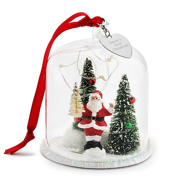 Santa Claus Lighted Cloche...