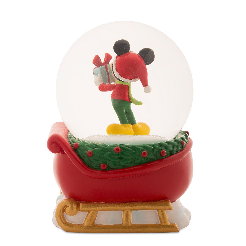 Mickey Mouse Holiday Snow Globe