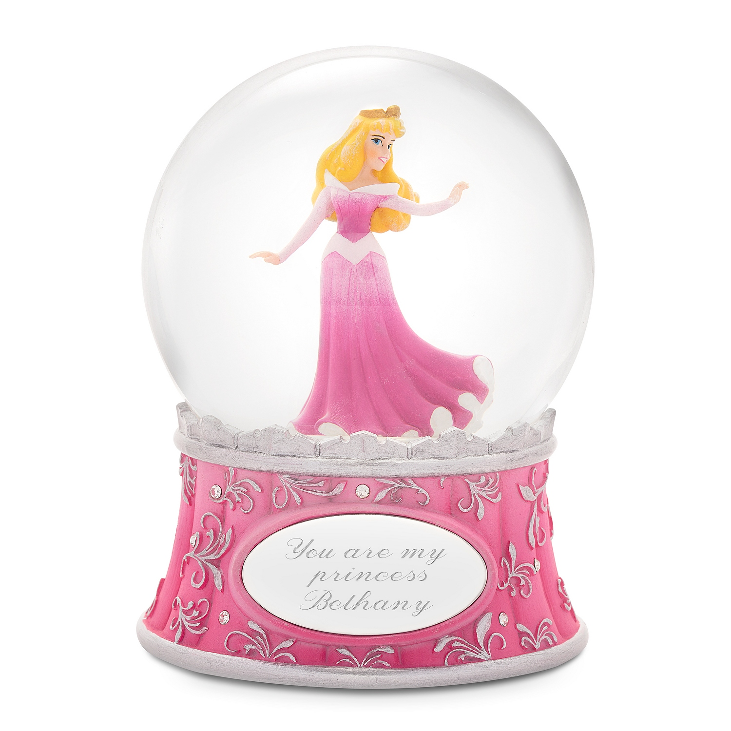 Disney Showcase Princess Aurora Snow Globe