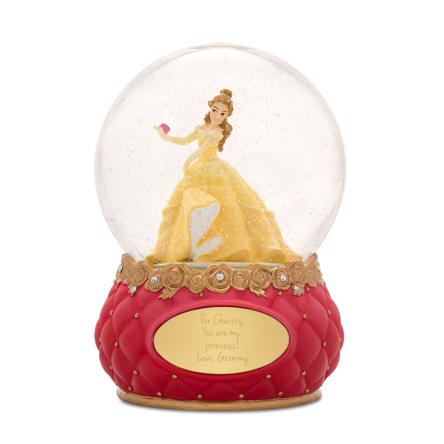 Gifts for the flower girl at things remembered disney showcase princess belle snow globe izmirmasajfo