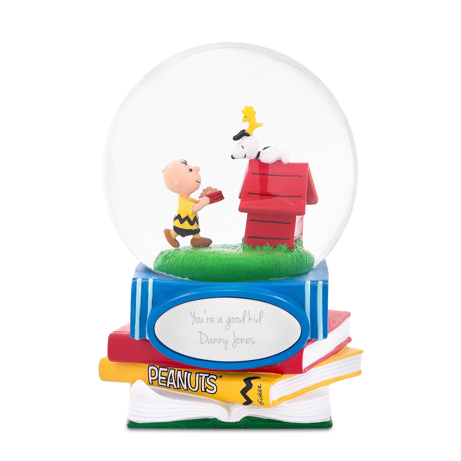 Snoopy and Charlie Brown Snow Globe