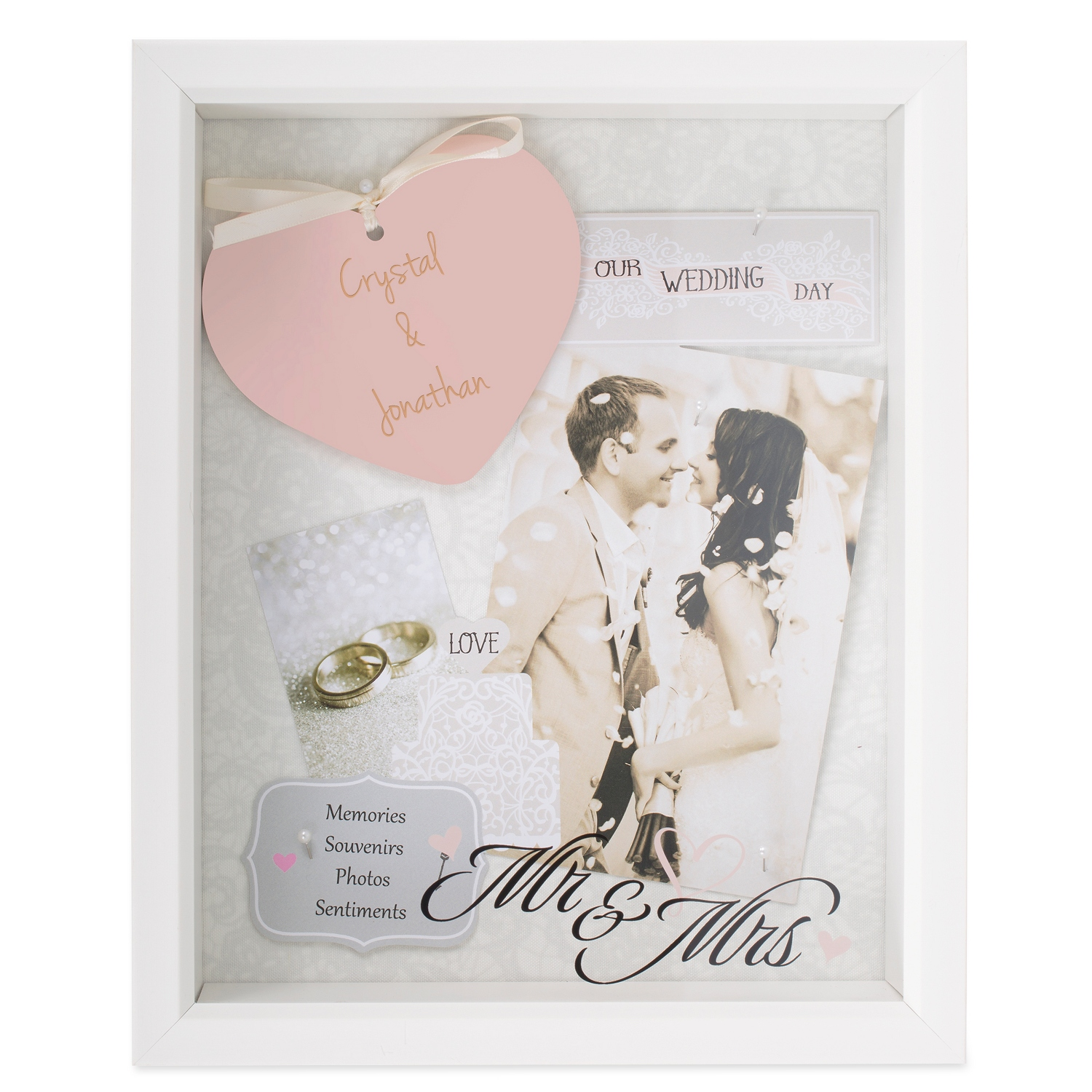 Mr and Mrs Shadow Box