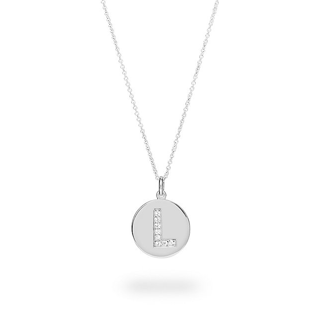 Sterling Silver Disc...