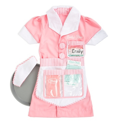 sc 1 st  Things Remembered & Melissa and Doug Waitress Role Play Costume Set