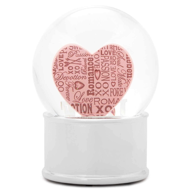Vintage Love Snow Globe