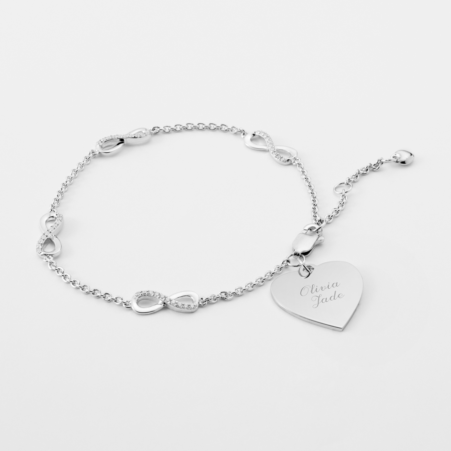 infinity joolsjewellery co ed uk jools products silver bracelet jewellery