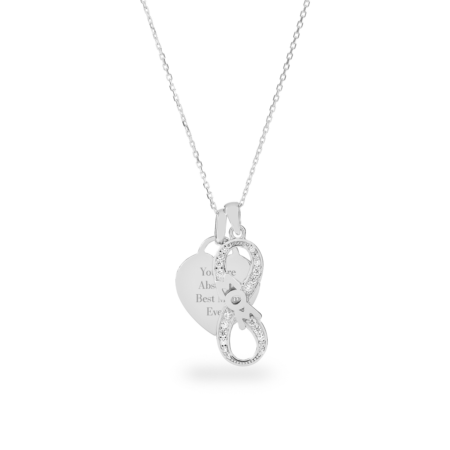 and necklace infinity sign minnie arribas mickey by image brothers mouse