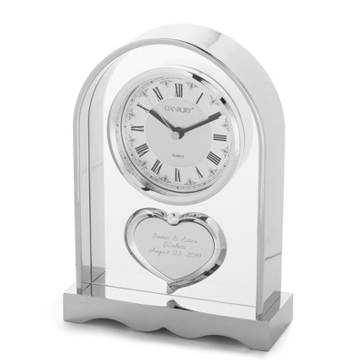 Heart Wedding Clock