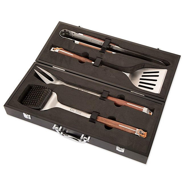 Image 4 Piece BBQ Set With Carry Case