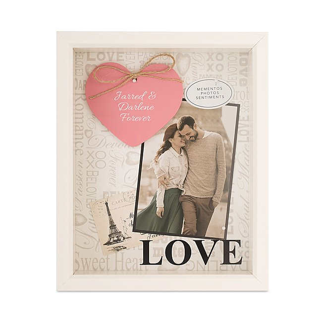 Paris Love Shadow Box...