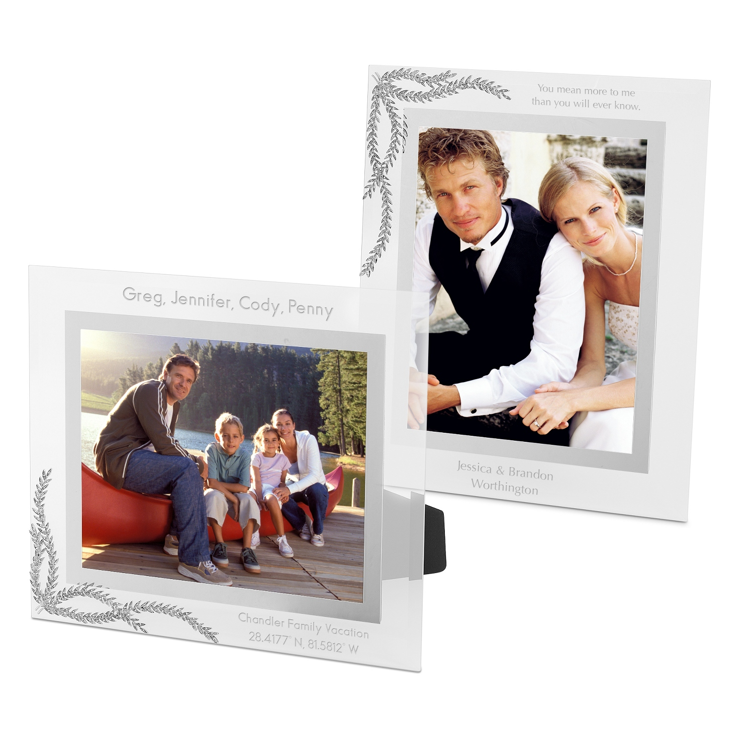 Wedding frames photo gifts at things remembered athena wedding frames athena wedding frames jeuxipadfo Images