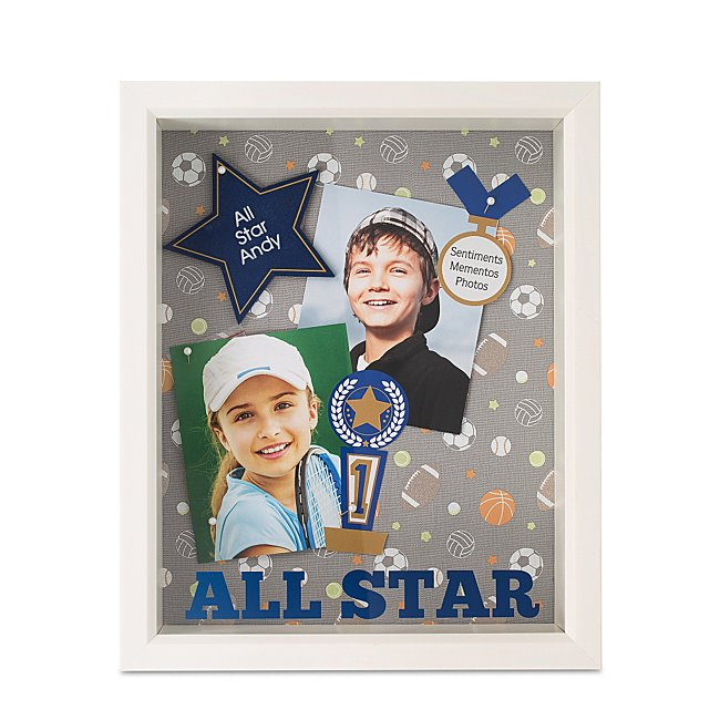 All Star Shadow Box Frame...