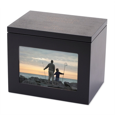 sc 1 st  Things Remembered & Black Photo Storage Box