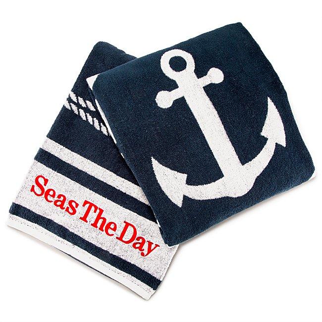 Nautical Beach Towel...