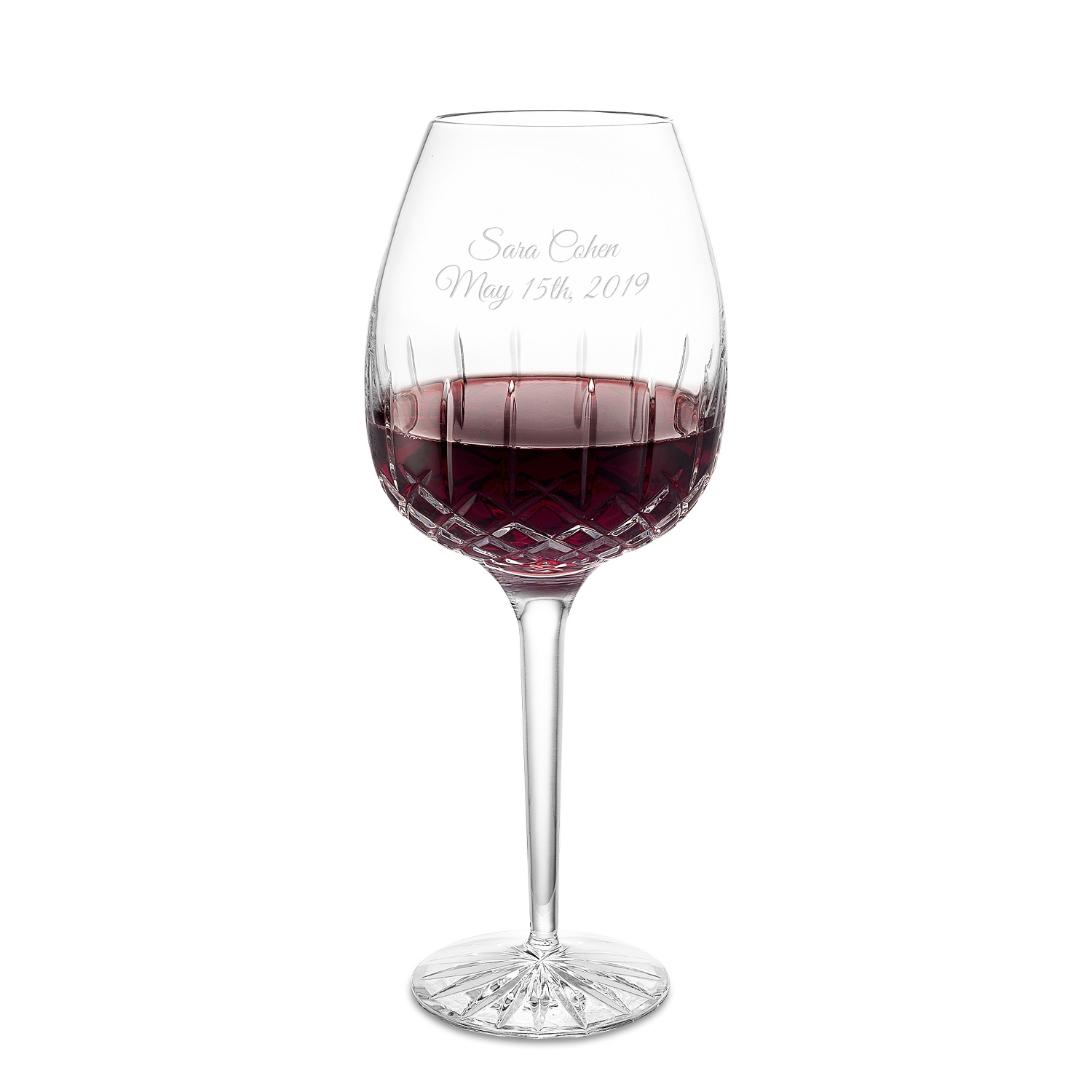 15th wedding anniversary gifts at things remembered crystal red wine glass reviewsmspy