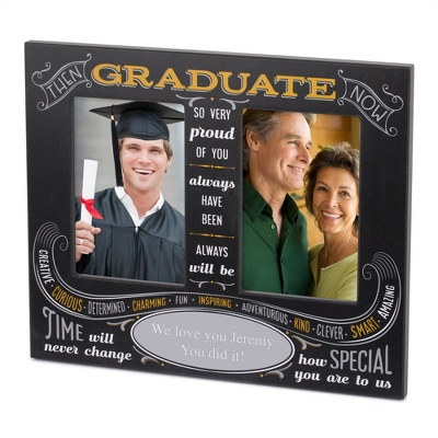 graduate black double opening frame