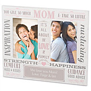 moms love double opening frame - Mom Picture Frames