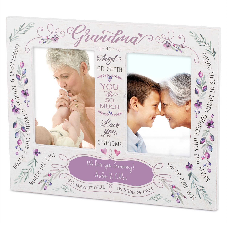 Grandmas Love Double-Opening Frame