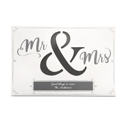 Mr And Mrs LED Wall Art ...