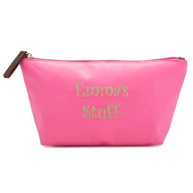 Pink Nylon Cosmetic Case...