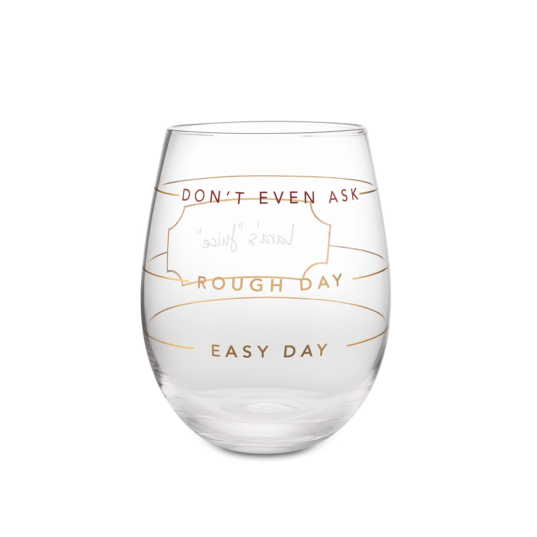 Measure Stemless Wine Glass