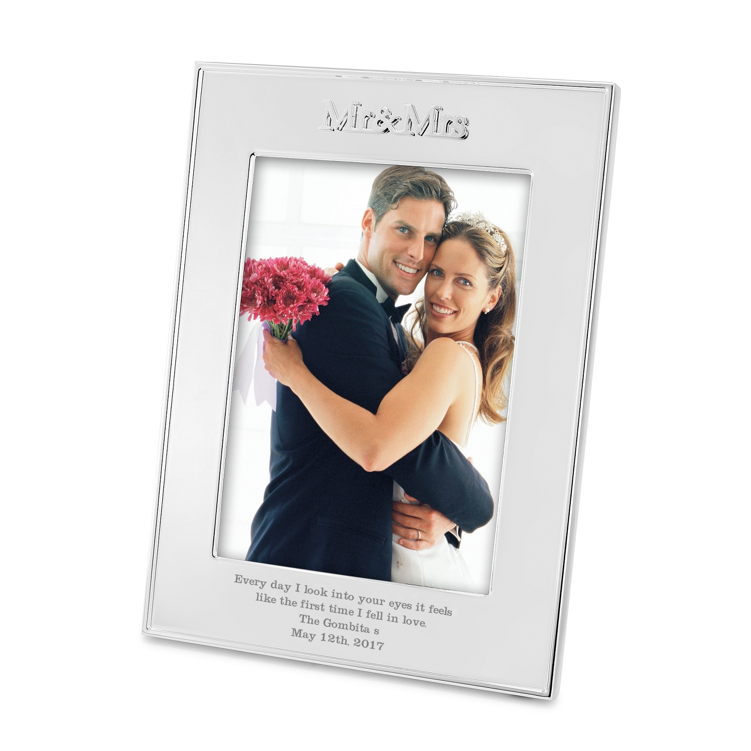 Mr and Mrs 5x7 Frame