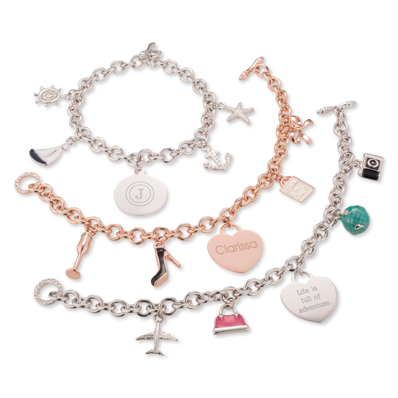 Her Favorite Things Charm Bracelets