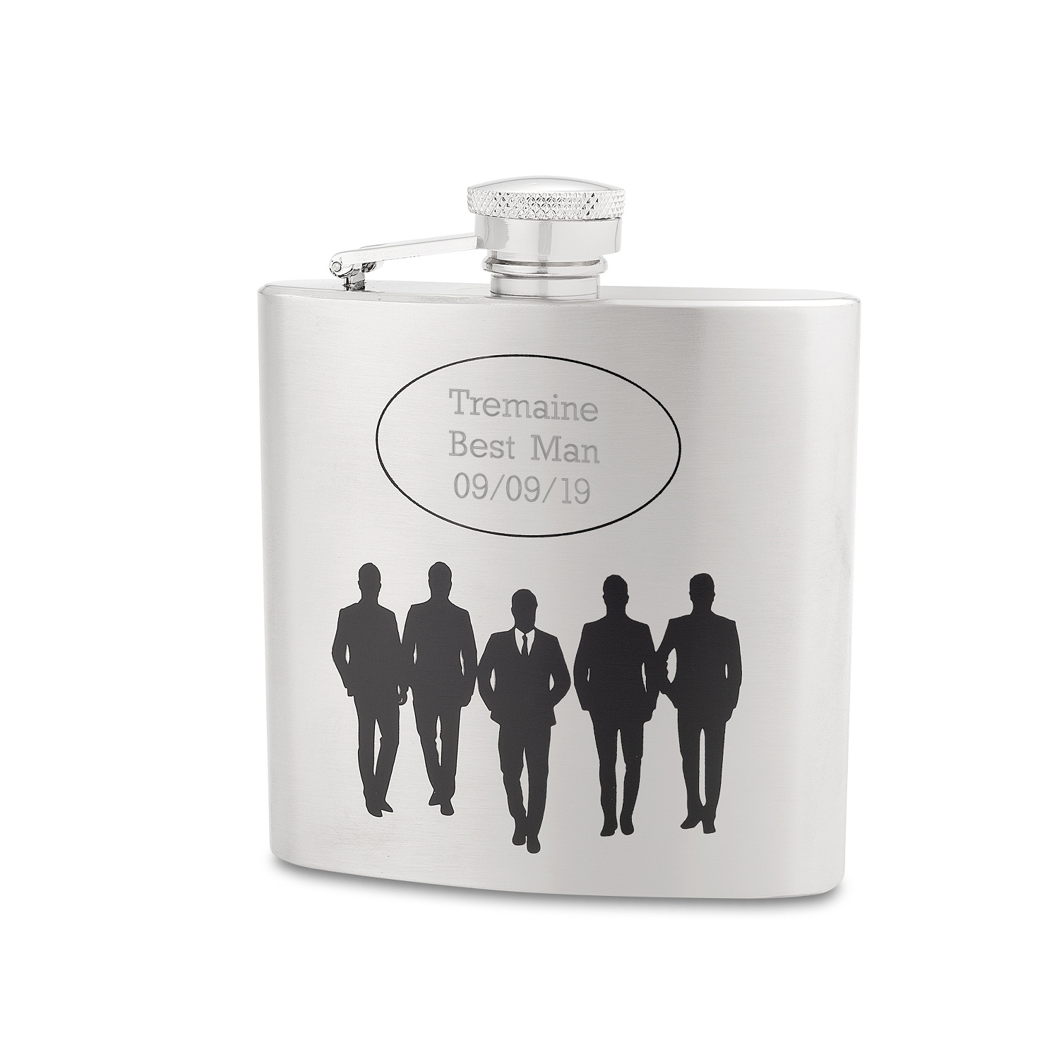 engraved flasks at things remembered