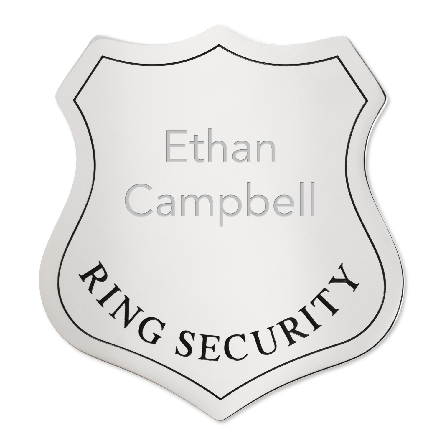 Ring Security Badge - Ring security badge template