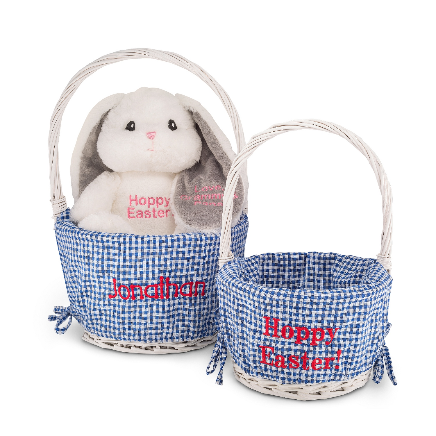 Blue lined easter baskets negle Image collections