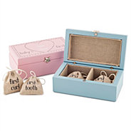 Personalized gifts for babies and newborns at things remembered babys first tooth and curl boxes negle Image collections