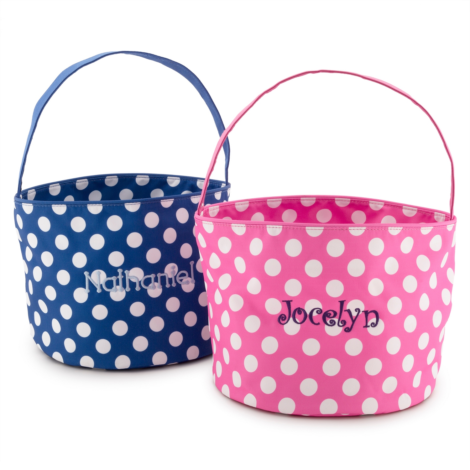 Personalized easter gifts for kids at things remembered polka dot toy totes negle Images