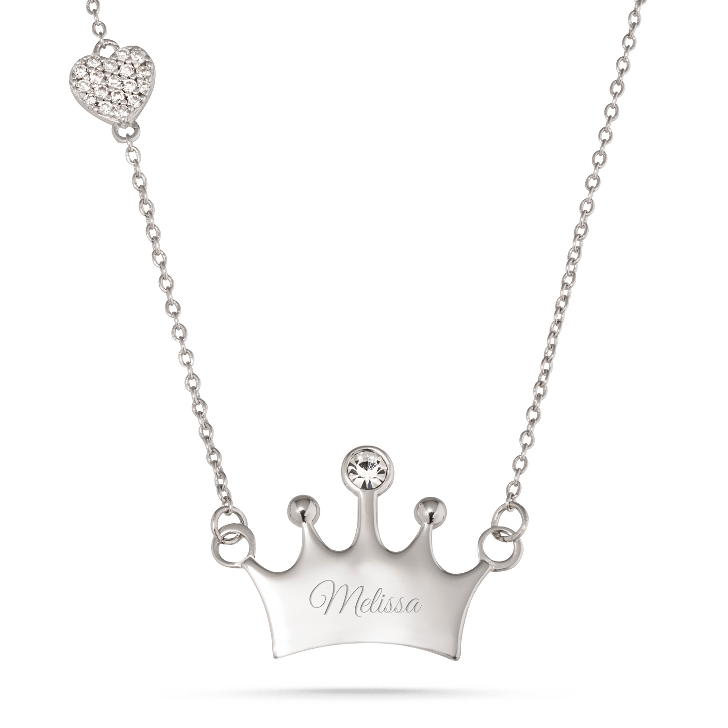 pendant product necklace dee king products image crown bijoux store