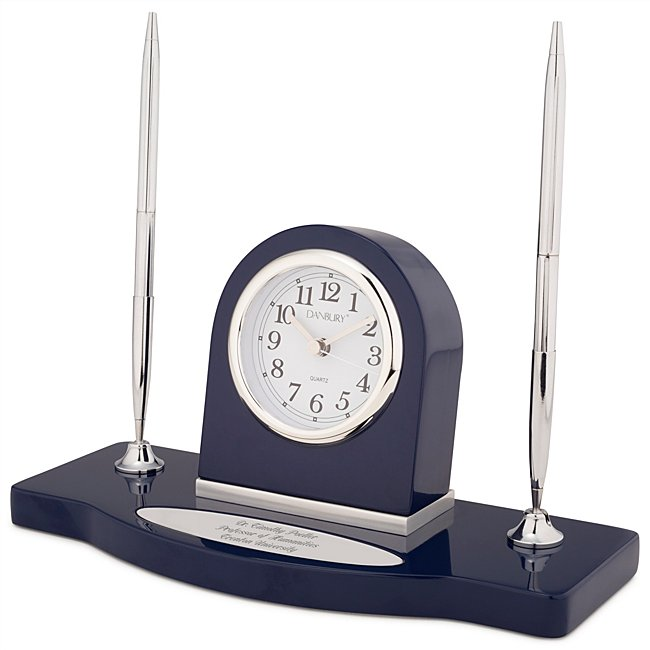 Navy Double-Pen Stand...