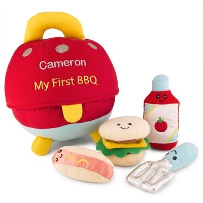 Gund My First BBQ Plush Toy Set